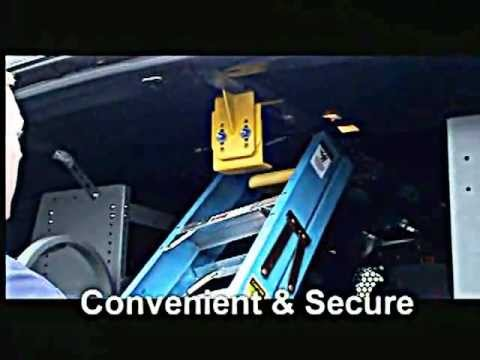 Ford Camper Van >> Ladder Keeper Ladder Rack: Interior Van Ladder Racks | Official Adrian Steel Video - YouTube