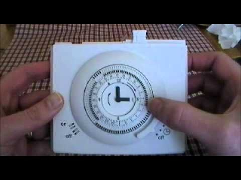 Worcester System Boiler Wiring Diagram 2013 Jeep Wrangler Bosch Mechanical Timeclock User Instructions By Advantagesw - Youtube