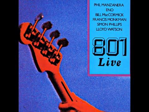 Brian Eno & 801 Live - Lagrima