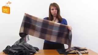 Мужские кашемировые шарфы Glen Saxon