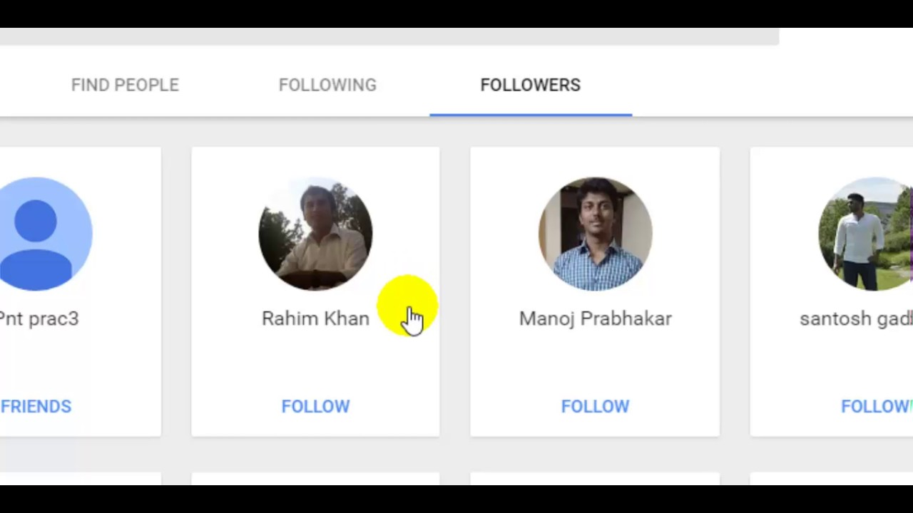 2e35331b86b8 How to see followers in Google plus - YouTube