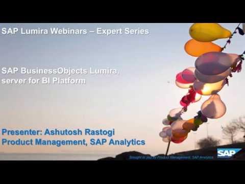 SAP BusinessObjects Lumira: Server for BI Platform