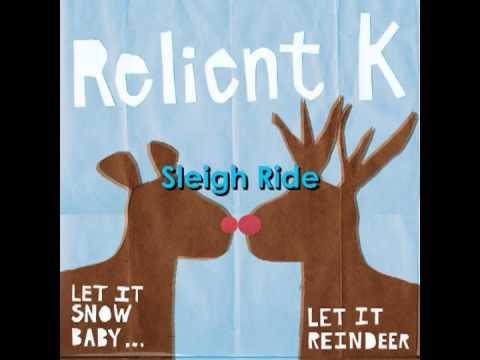 Relient K  Sleigh Ride w Lyrics