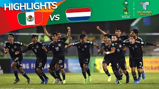 México Vs. Países Bajos: 4 3 Goals & Highlights | Copa Mundial Sub 17 | Telemundo Deportes