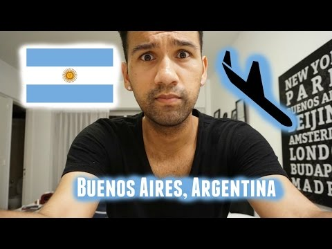 Traveling to Buenos Aires, Argentina