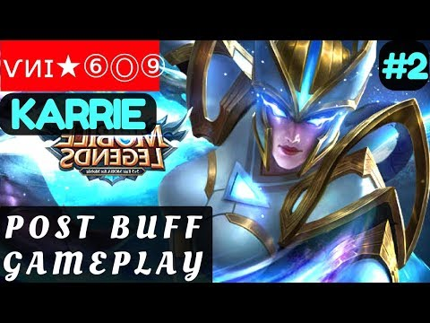 Post Buff Gameplay [Rank 4 Karrie] | ѵᴎɪ★⑥Ⓞ⑨ Karrie Gameplay and Build #1 Mobile Legends