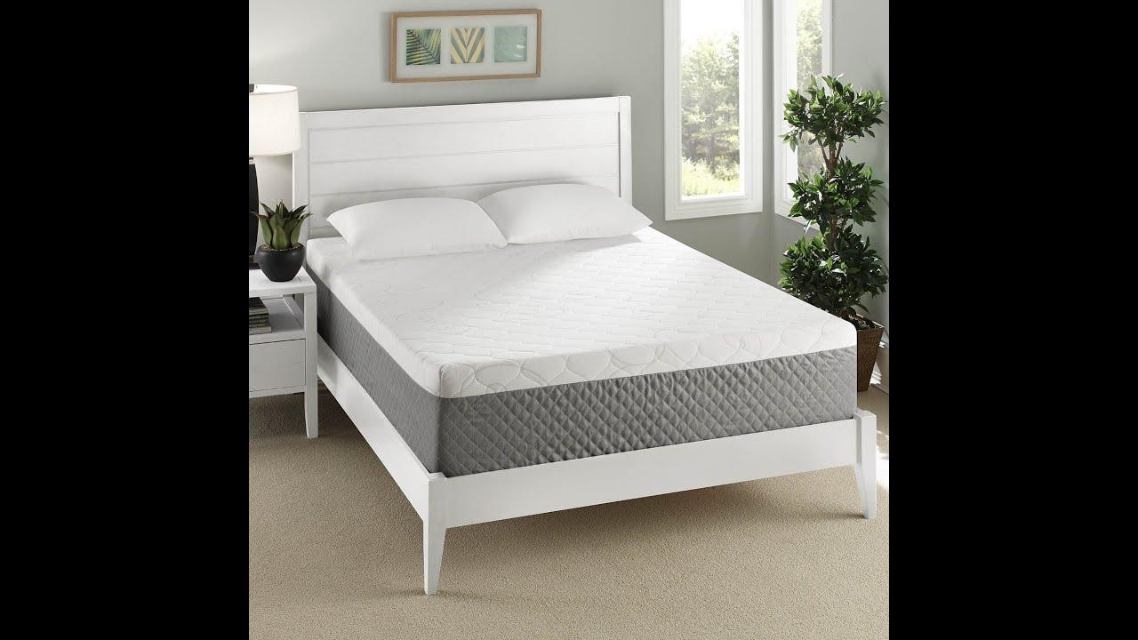 Sleep Innovations 12 inch Gel Swirl memory foam mattress