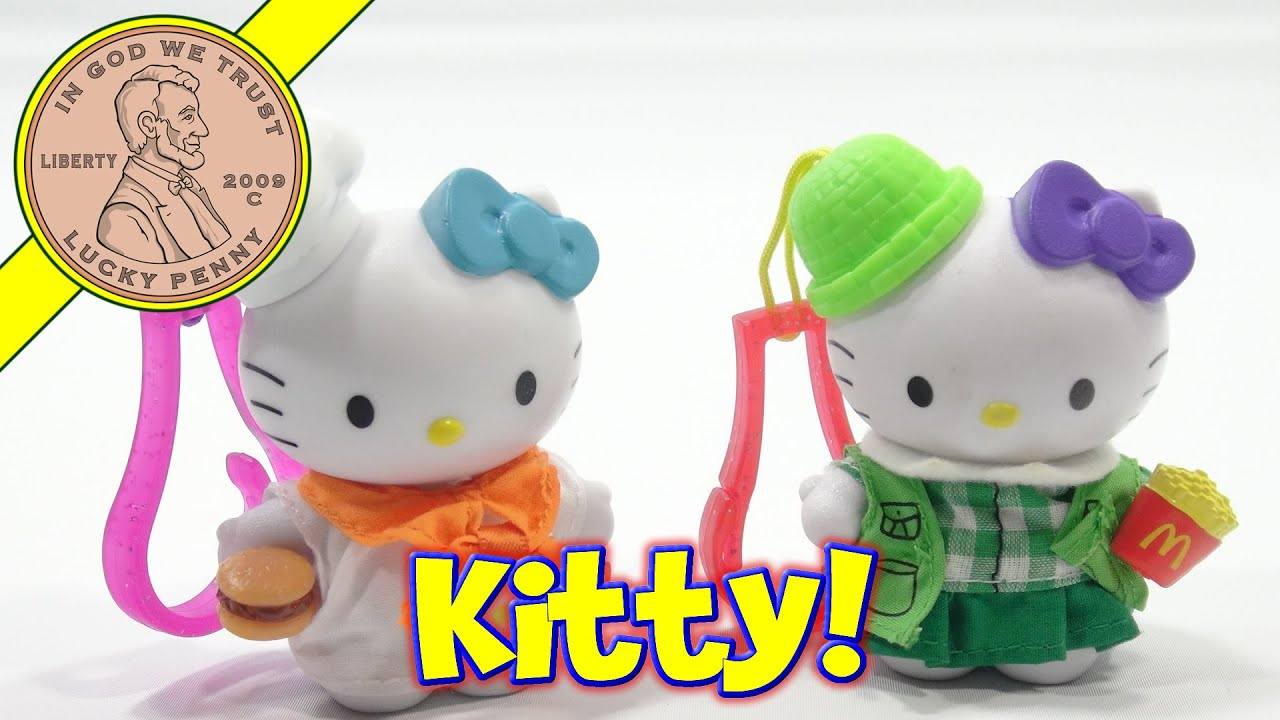 Hello Kitty McDonald s Retro 2000 & 2001 Happy Meal Toys