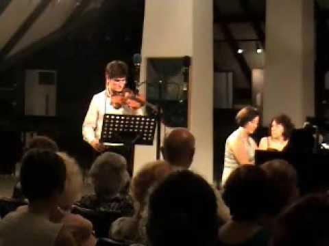 Ernst Mahle: Sonata 1980 (2º 3º mov.) - Pedro Barreto & Nara Vasconcelos