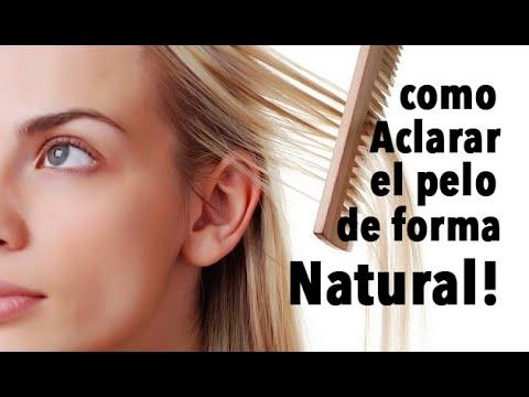 Como aclarar el cabello sin decolorar ni tinturas h - Como aclarar el pelo en casa ...