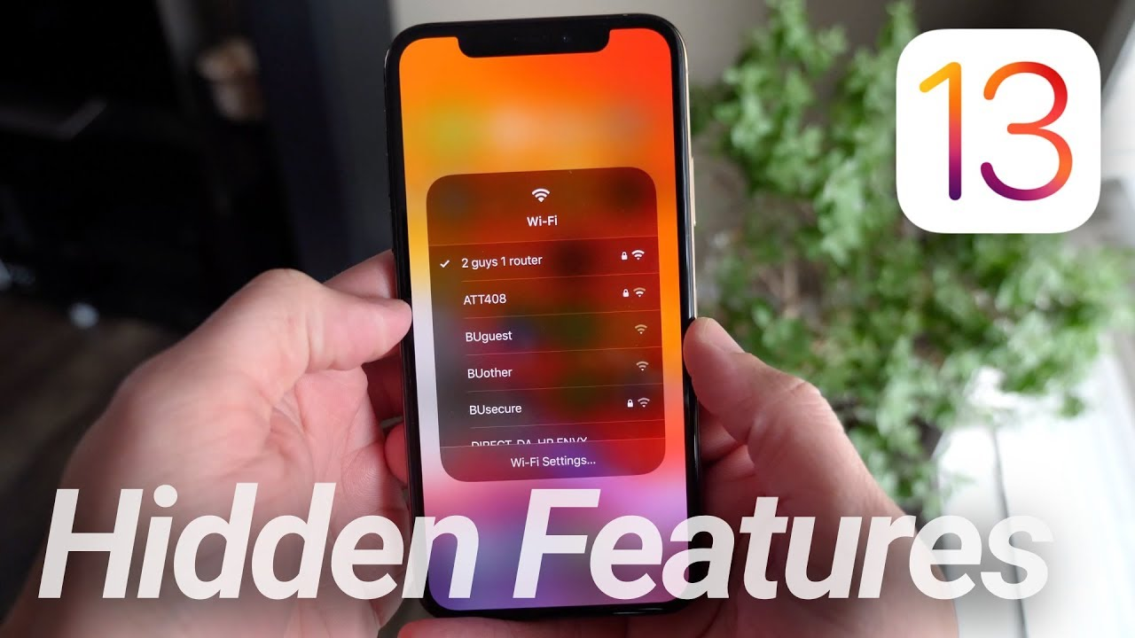 IOS 13 What's New! 50+ Hidden Features & New Changes image