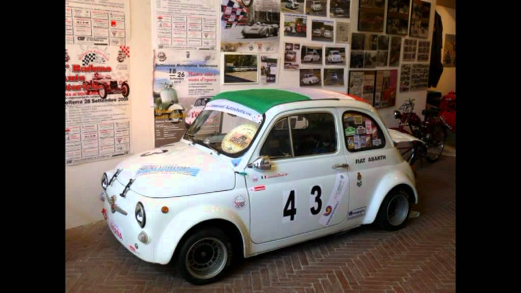 Fiat Abarth 695 Esseesse Racecar Italy Tuscany Volterra