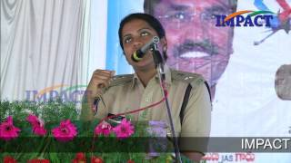 """Be Fearless"" talk by Ms Swetha Reddy Garu  SP at IMPACT Kamareddy  2017"