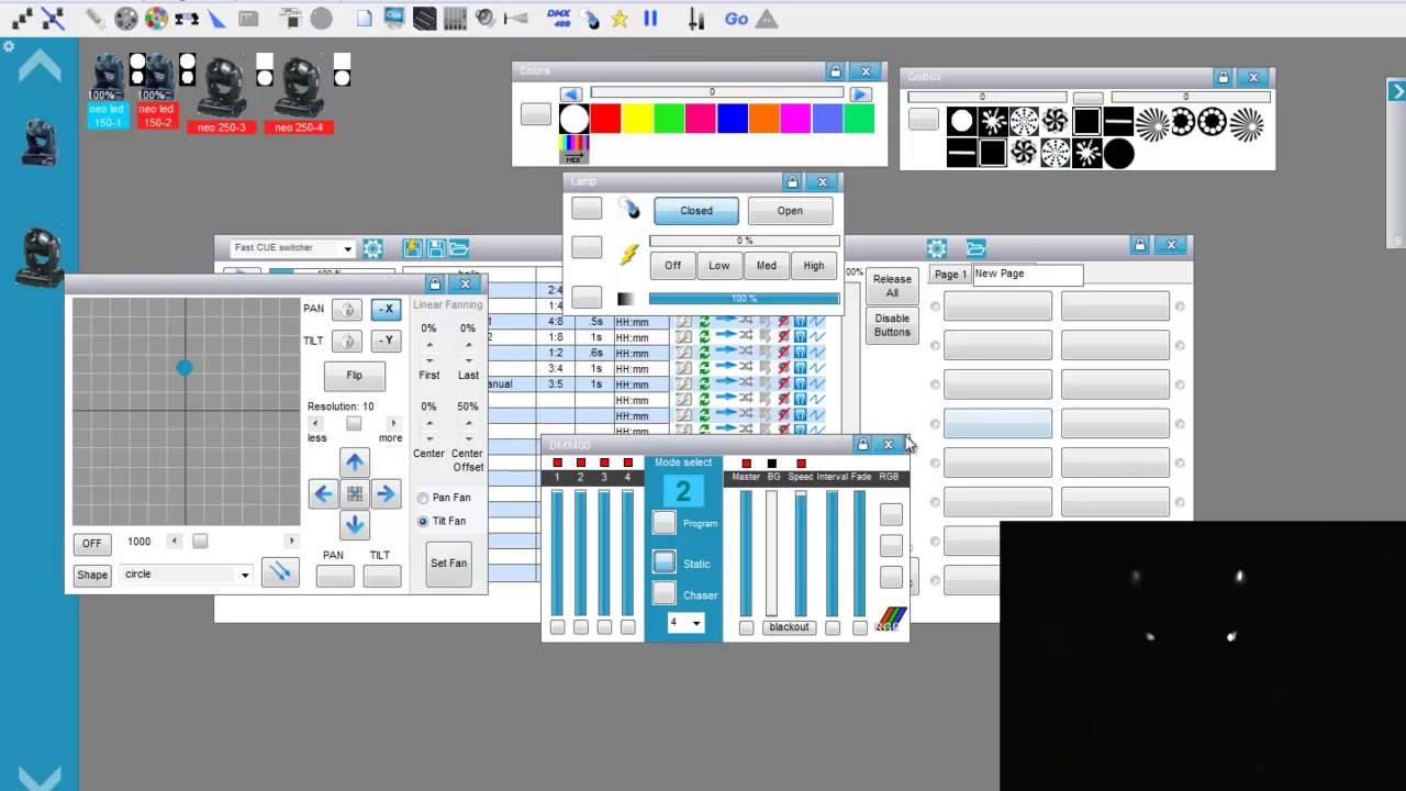 Tutorial Basico Dmx N 176 5 Freestyler Youtube