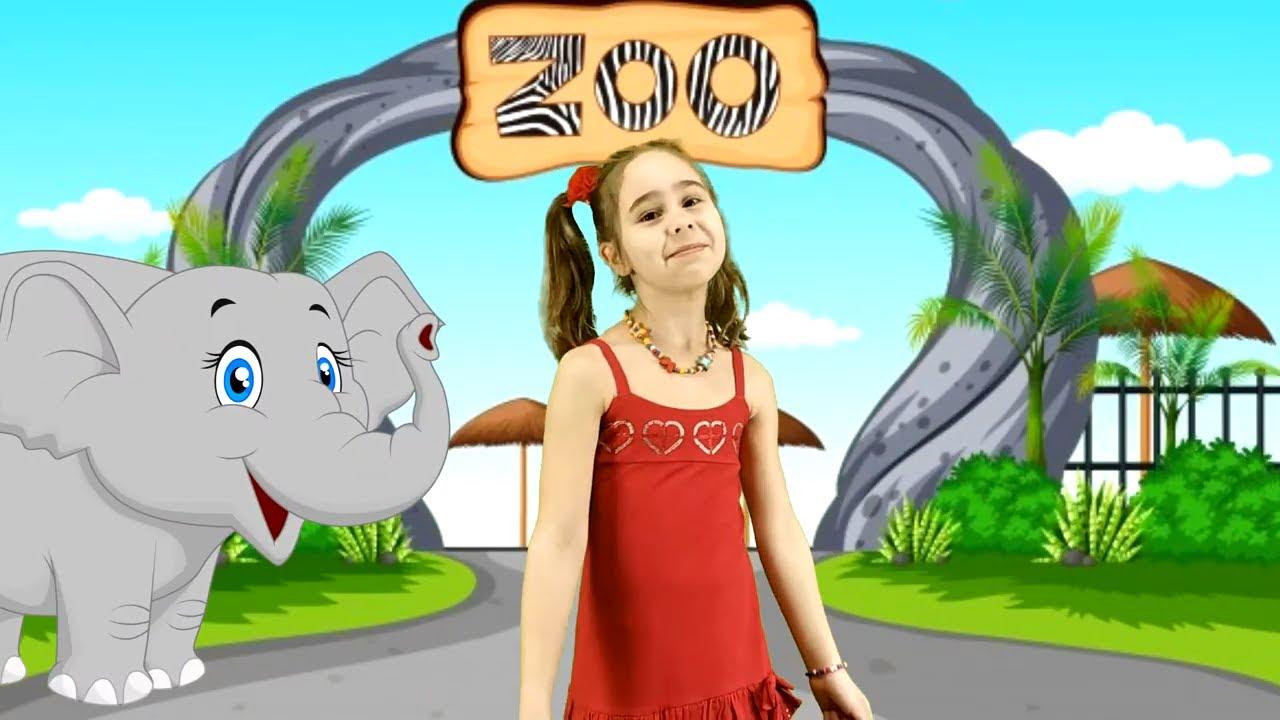 """Детская песенка про веселого слона """"Слон и Чарльстон"""""""