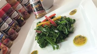 NEW! Raw Marinated Collard Greens by Keith Lorren