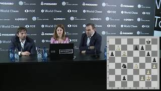 Round 13. Press conference with Mamedyarov and Grischuk