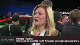 2017 Chevrolet Bolt EV - Interview Pamela Fletcher, Chevrolet, at the 2016 NAIAS | AutoMotoTV