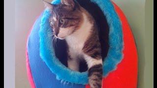 Casa iglu Para Perros y Gatos