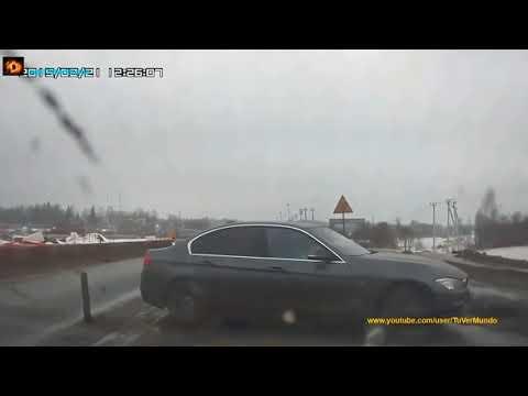 КАК ДЕРЖИТ УДАР BMW аварии с машинами