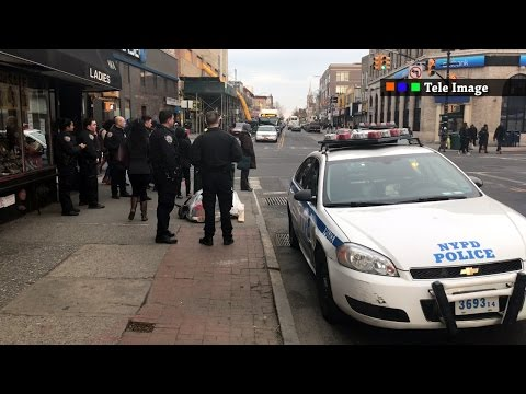 ICE IMMIGRATION POLICE IN BROOKLYN NYC - Rumors of Haitian immigrants raid arrest Kal's bakery
