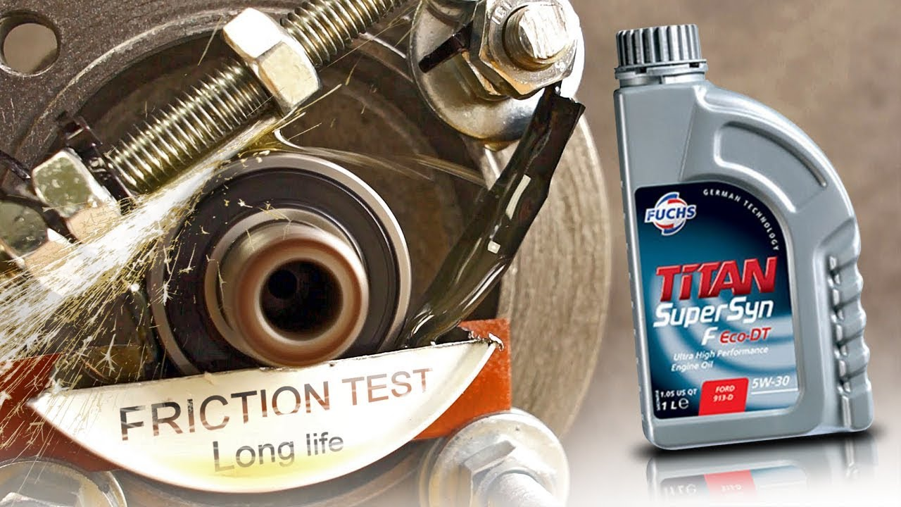 Fuchs Titan Supersyn F Eco Dt 5w30 Jak Skutecznie Olej Chroni Silnik Youtube