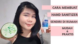 Cara membuat hand sanitizer sendiri di rumah, mudah & praktis