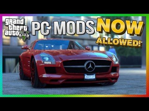 GTA 5 PC - Modding OFFICIALLY Allowed by Rockstar! (GTA V PC)
