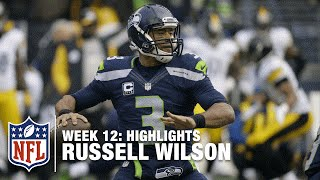Russell Wilson Tosses 5 TDs! (Week 12) | Steelers vs. Seahawks | NFL Highlights