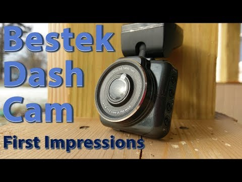 Bestek $30 Dash Cam Unboxing and First Impressions
