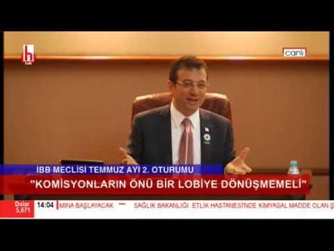 İBB Meclis 2. Oturumu'ndan Ekrem İmamoğlu ile AKP'li başkan arasında tar