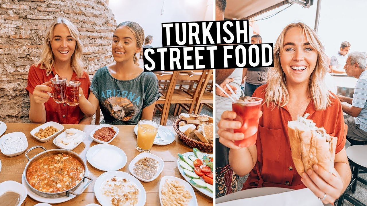 we tried turkish street food in istanbul youtube