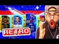 OMG WHAT A DRAFT! HIGHEST RATED FIFA 18 RETRO DRAFT! FIFA Ultimate Team