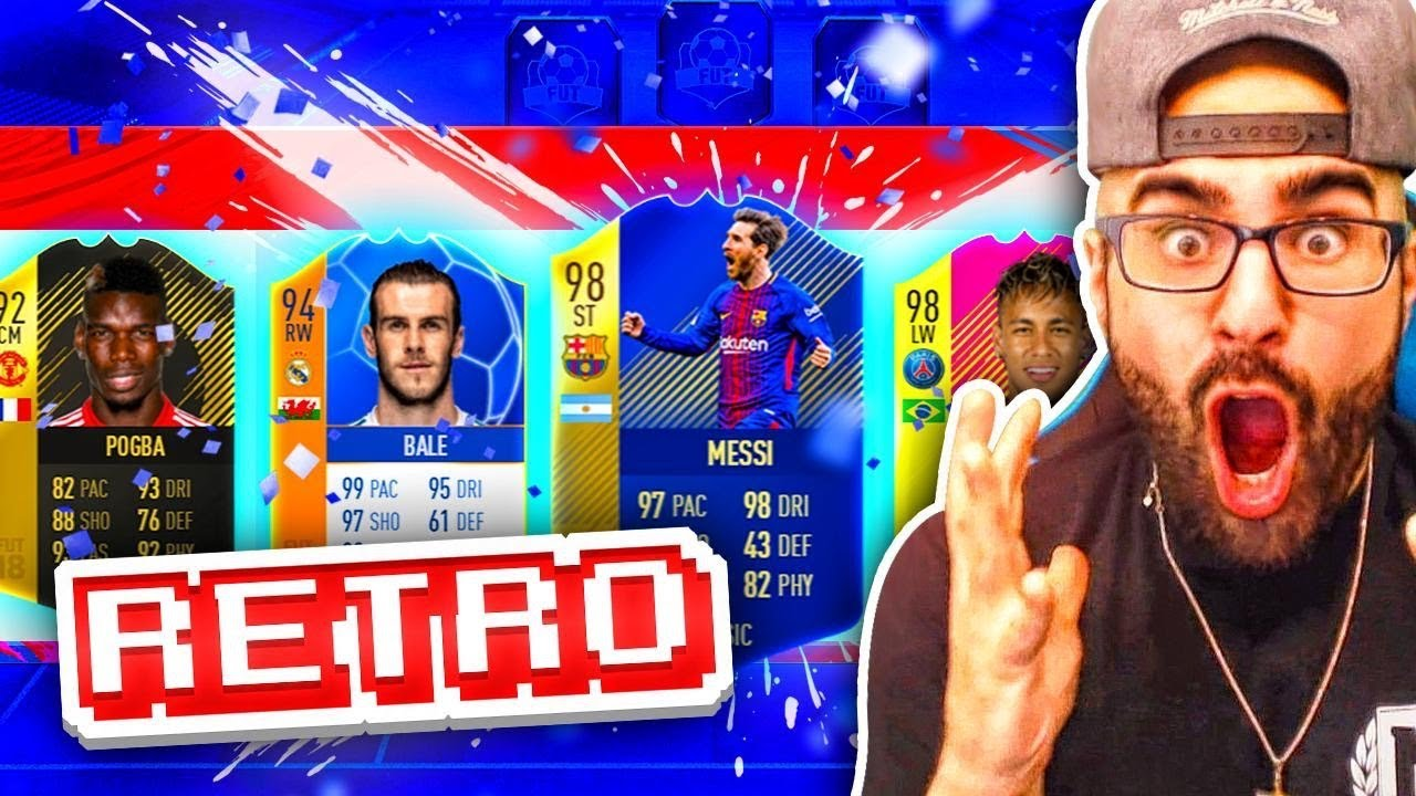 OMG WHAT A DRAFT! HIGHEST RATED FIFA 18 RETRO DRAFT! FIFA Ultimate Team thumbnail