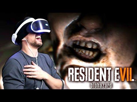 Resident Evil 7: Gameplay avec le Playstation VR !!