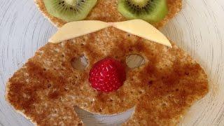 Create an Easter Bunny Pancake