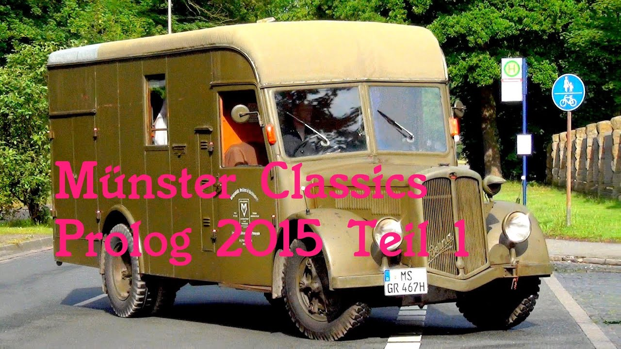 Münster Classics 2015 Oldtimer