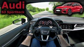 2021 Audi S3 Sportback | POV test drive | #DrivingCars