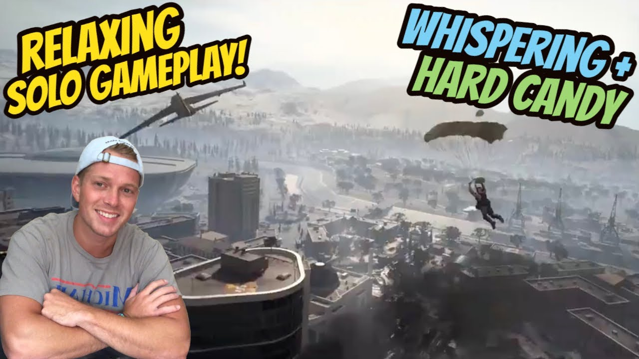 ASMR Gaming: COD Warzone | Relaxing Solo Gameplay! - Hard Candy & Whispering