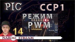 Программирование МК PIC. Урок 14. Модуль CCP. Режим PWM