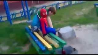 Прикол Человек паук