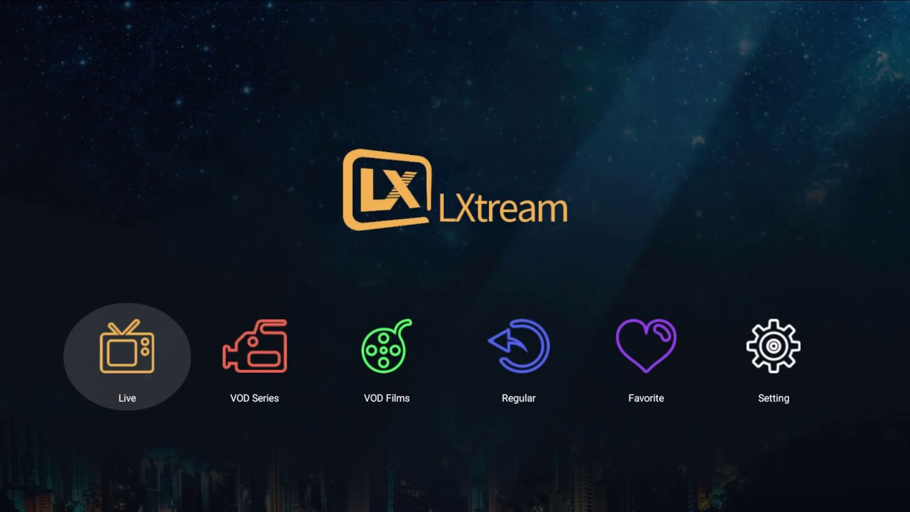 LXtream Player installation and UI preview