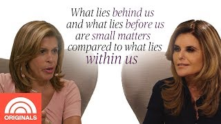 Maria Shriver's Favorite Quote Is All About Finding Inner Strength | Quoted By With Hoda | TODAY