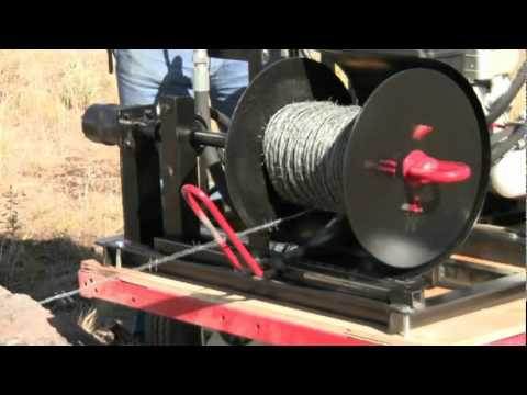 Rolling Wire With The Wire Roller Youtube