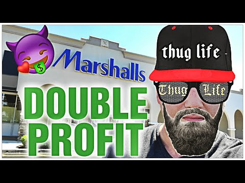 HOW TO MAKE LOTS OF MONEY AT MARSHALLS || A FEW ITEMS BRING IN DOUBLE PROFITS!