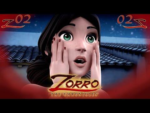 IL TESORO DELLA MONTAGNA   Zorro La Leggenda Episodio 2  Cartoni di supereroi