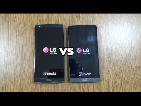 LG G Flex 2 VS LG G3 - Speed Test!