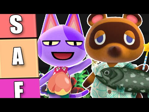The ULTIMATE Animal Crossing Tier List