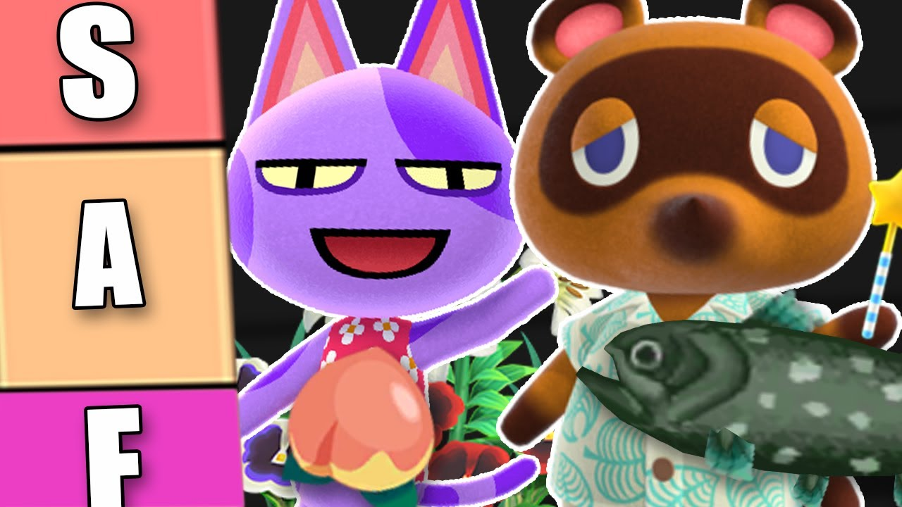 The Ultimate Animal Crossing Tier List Youtube