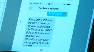 RBK-profilen raser i SMS: - Hvem faen tror de at de er?